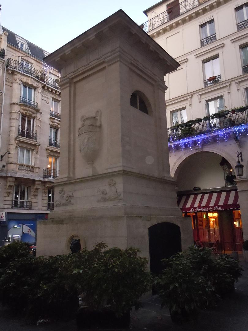 Les fontaines du décret de Saint-Cloud